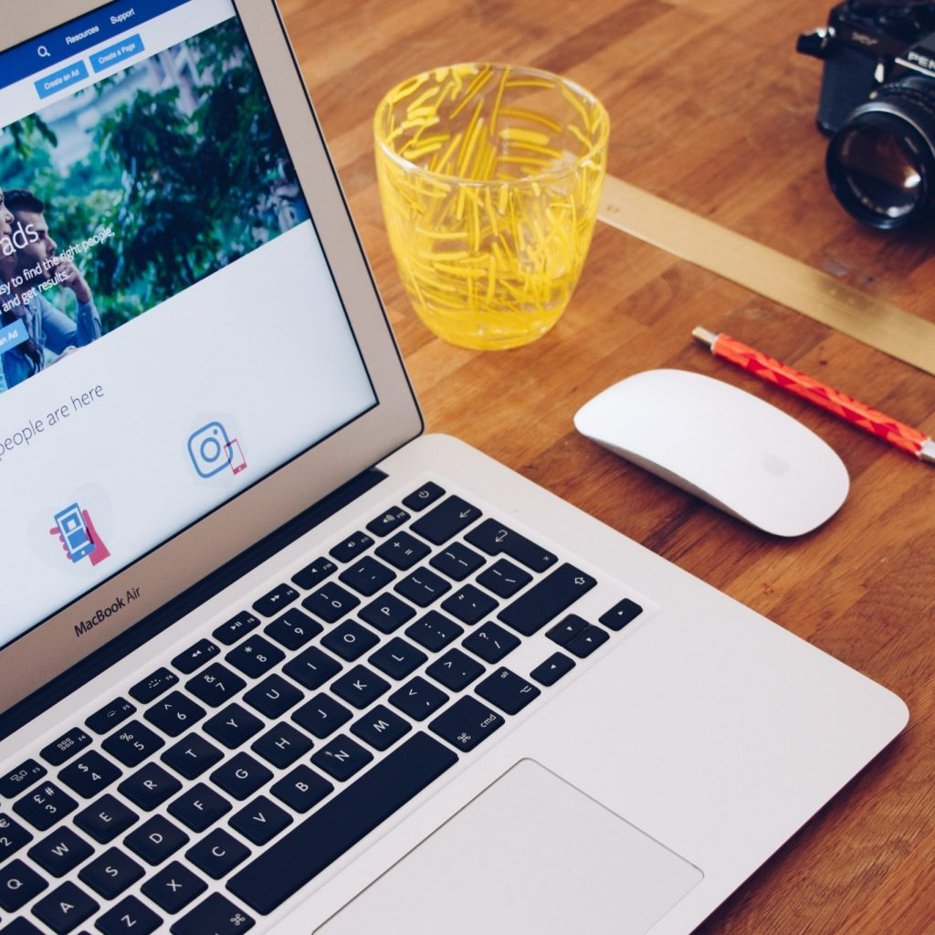 ordinateur facebook ads